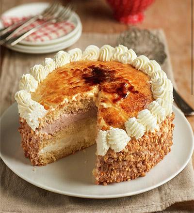 Yema Tostada Cake